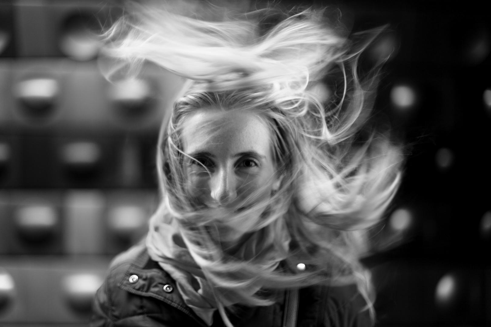 Windy underground