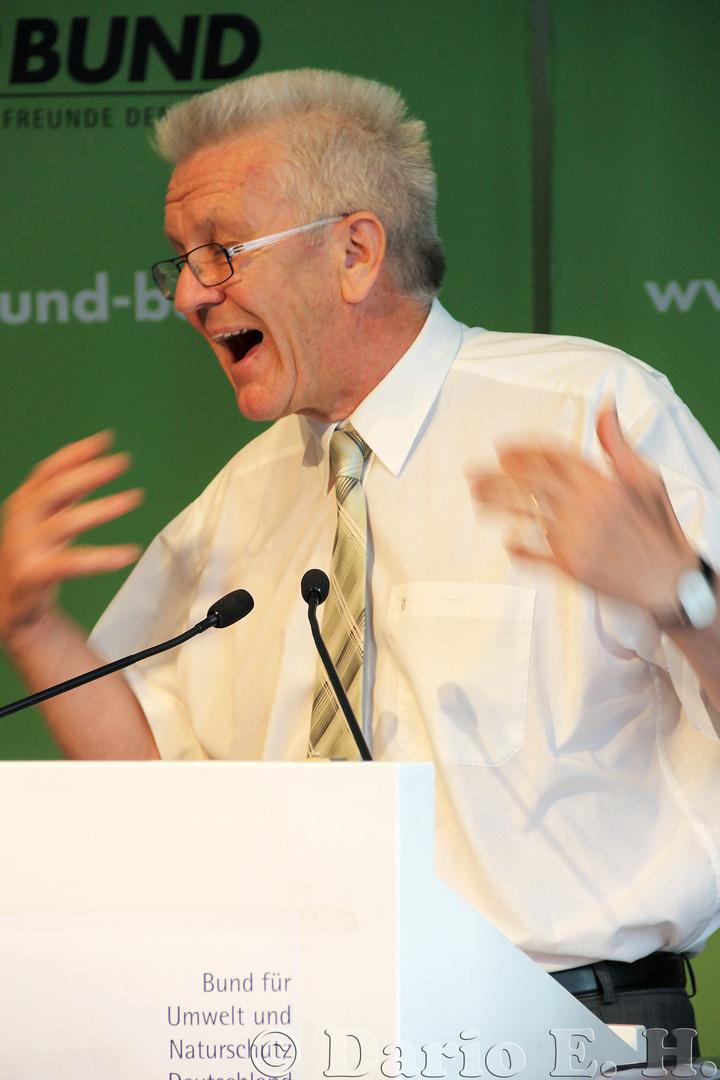Winfried Kretschmann (1/2) Geballte Energie