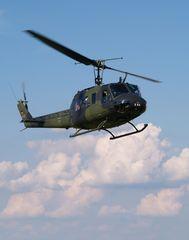 Winke-Winke (2) aus dem Hubschrauber