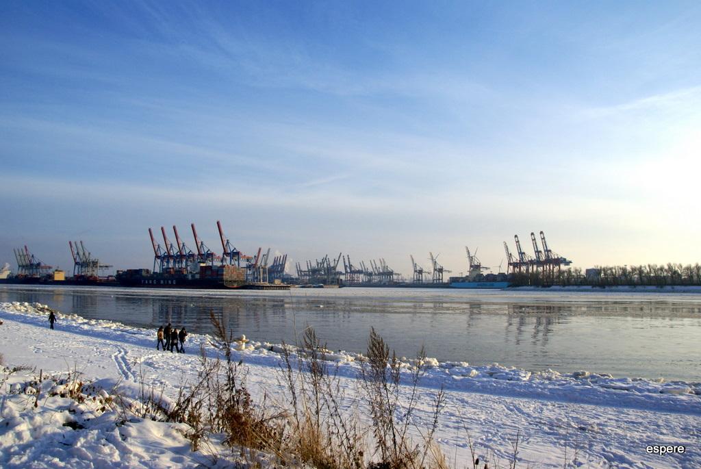 Winter 2010/11 an der Elbe 3