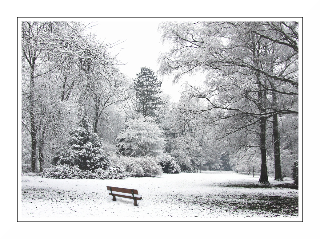 Winter 2011 in Mönchengladbach