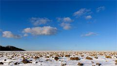 Winter-Acker-Wüste