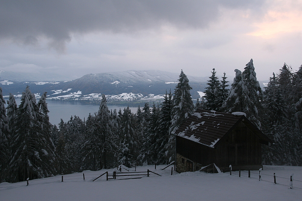 Winter am Attersee
