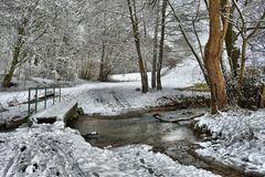 Winter am Bach...