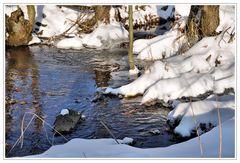 Winter am Bach II ..