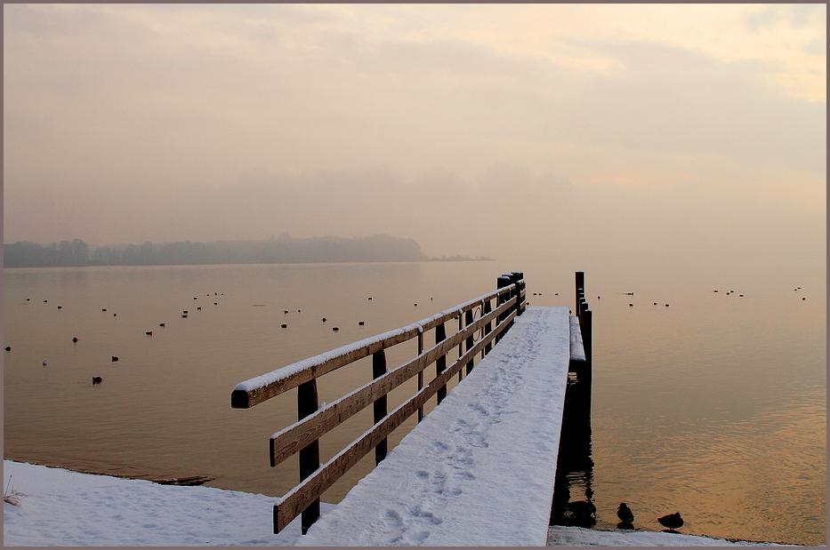 Winter am Chiemsee