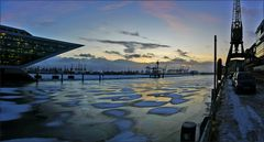 * Winter am Dockland...