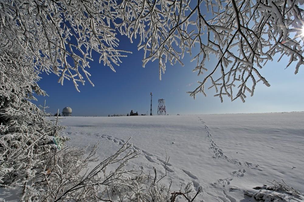 Winter am Erbeskopf 2011