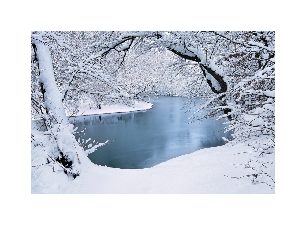 Winter am Fluss