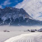 Winter am Fuße der Zugspitz