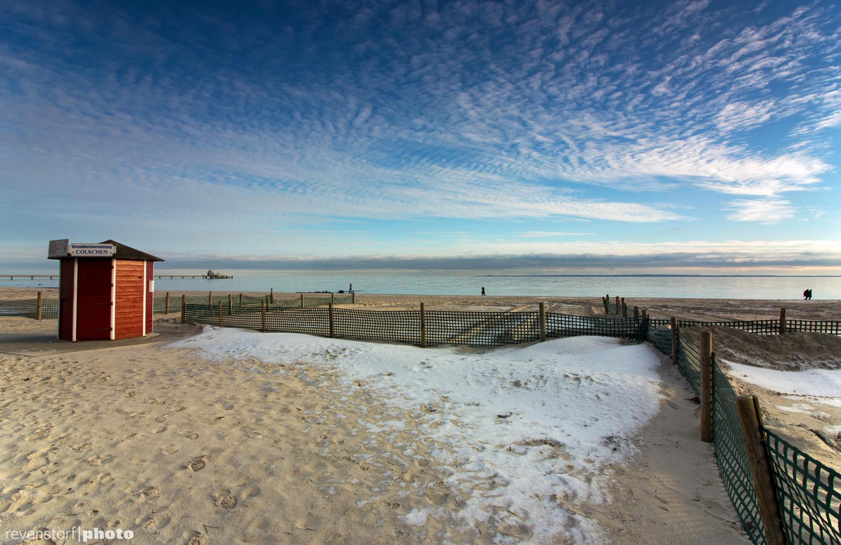 Winter am Grömitzer Strand