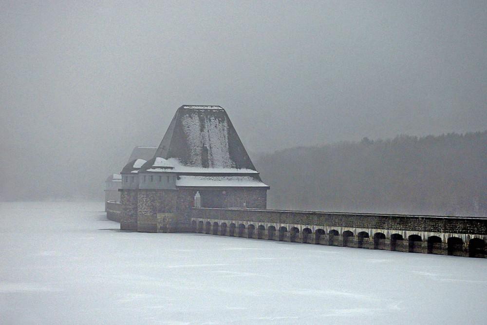 Winter am Möhnesee