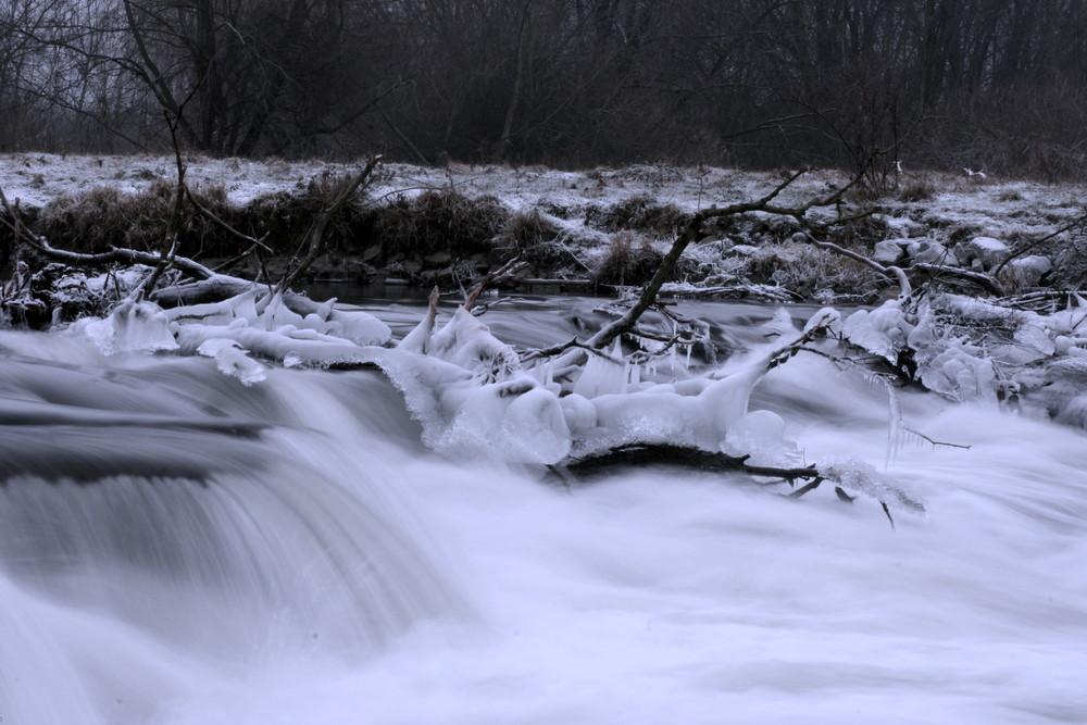 Winter am Neustädter Wasserfall (2)