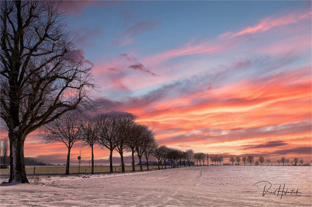 Winter am Niederrhein ....