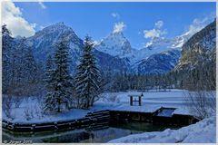 Winter am Schiederweiher....