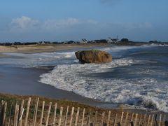 Winter  am  Strand vom Lesconil