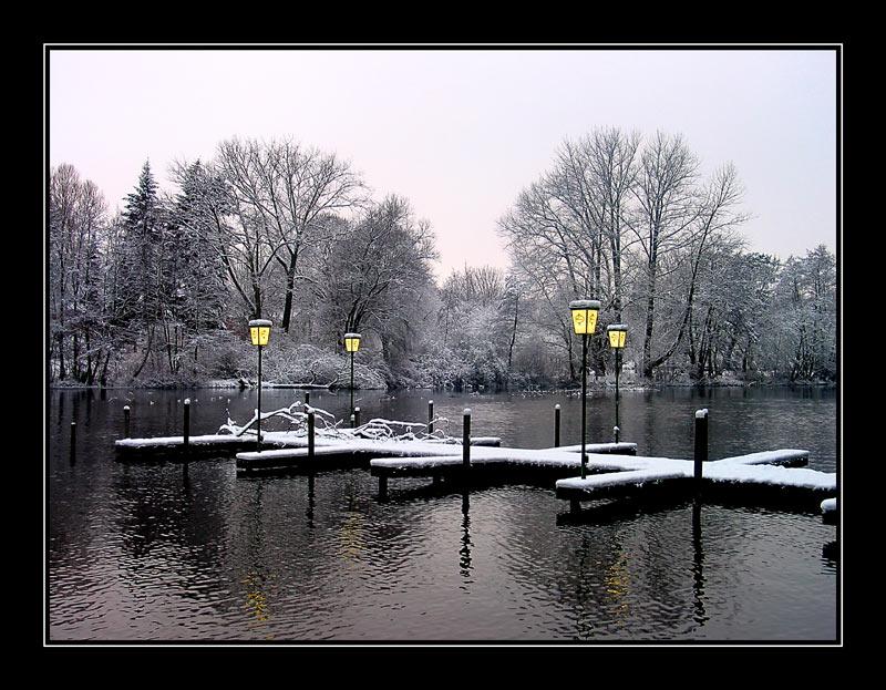 Winter an der Alster (Jahreswechsel 2002/2003)