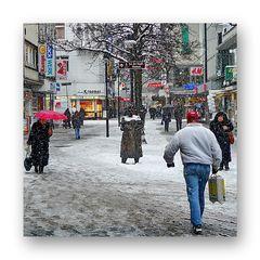 """Winter """"An der Fuhr"""", (Minna Knallenfalls ohne Schirm)"""