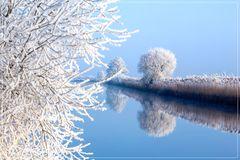Winter an der Hamme