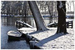 Winter an der Hamme ...