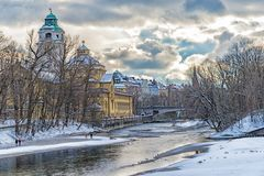 Winter an der Isar