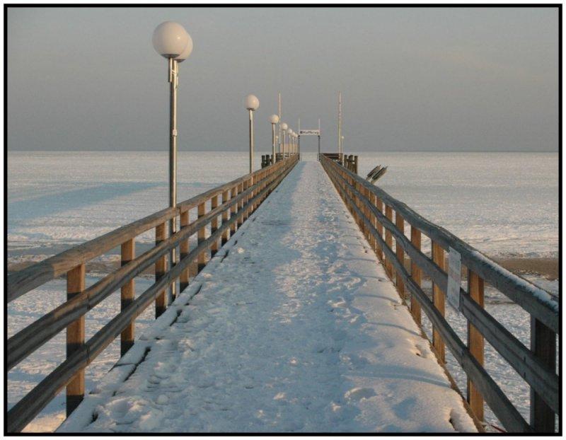 Winter an der Ostsee, Januar 2010