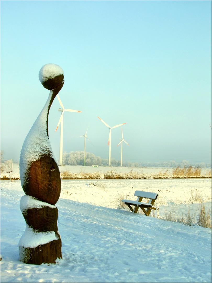 Winter an der See
