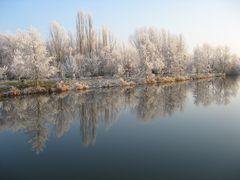 Winter an der Unstrut