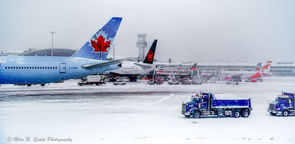 Winter at the Airport