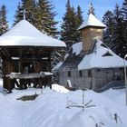 Winter at the Schitul Paltinis Church