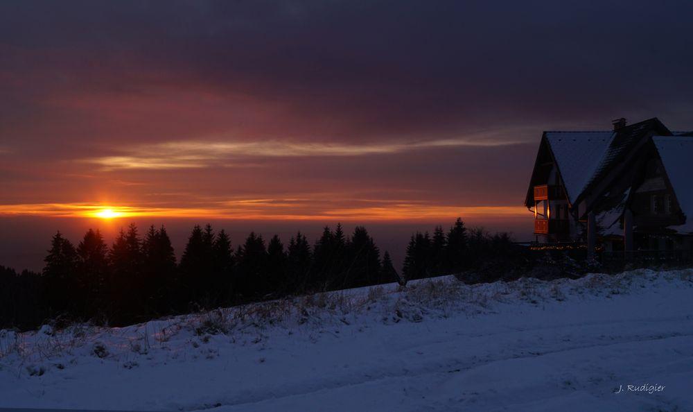 Winter auf dem Hotzenwald