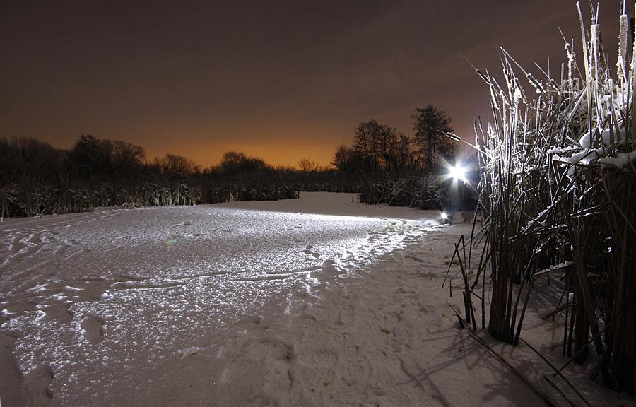 Winter auf dem See