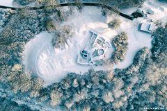 Winter auf der Burg