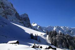 Winter auf der Schwägalp