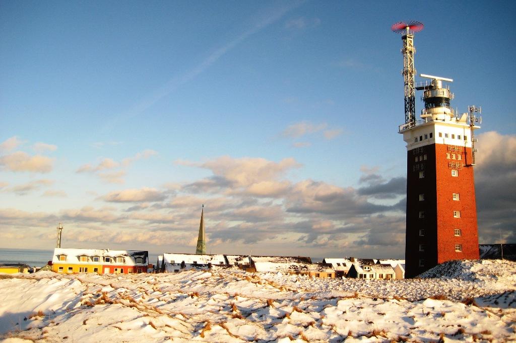 Winter auf Helgoland