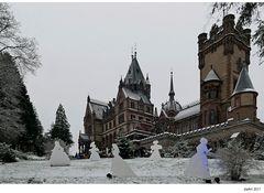 Winter auf Schloss Drachenburg...