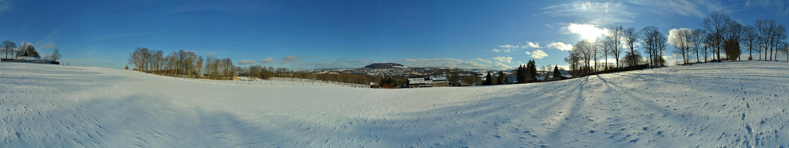 Winter bei Annaberg