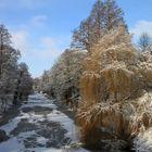 Winter bei uns in Stade!