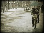 winter bicycle commuting
