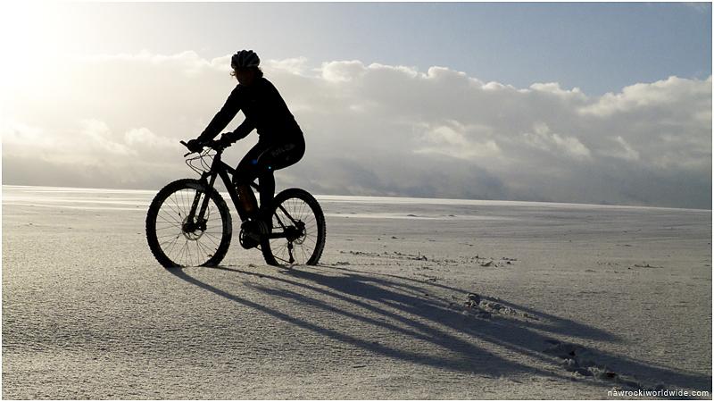 Winter Bike Scene