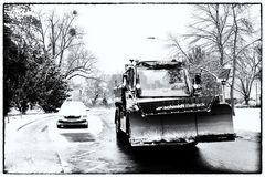 Winter Einbruch
