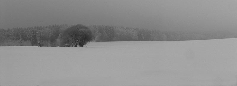 Winter im Alpenvorland