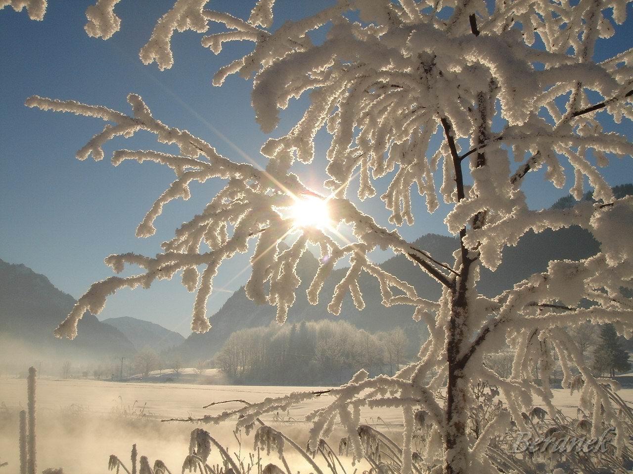 Winter im Ammertal