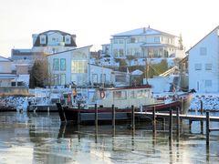 Winter im Binnenhafen