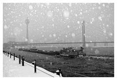 Winter im Düsseldorf