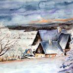 Winter im Erzgebirge