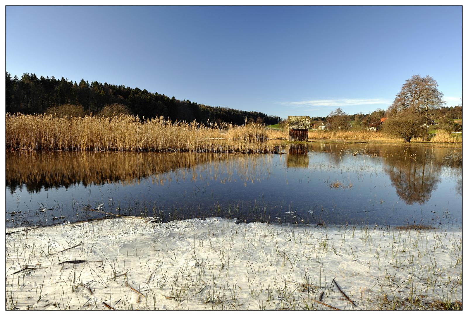 Winter im Flachland