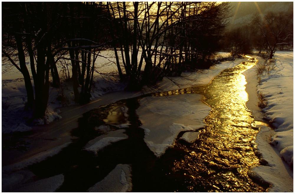 Winter im Gelbachtal / Westerwald