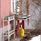 Winter im Hinterhof