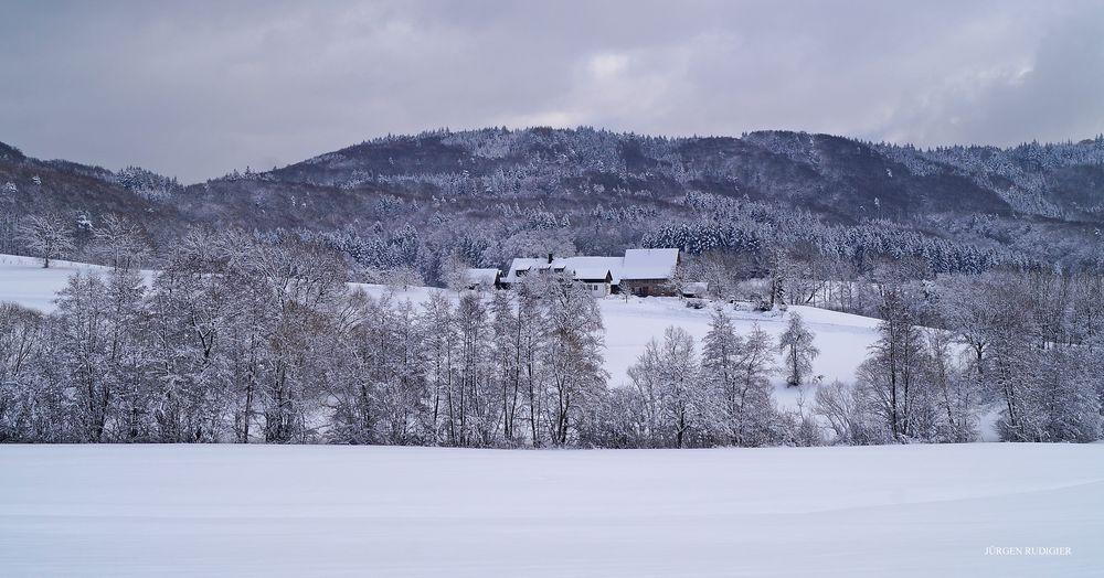 Winter im kleinen Wiesental